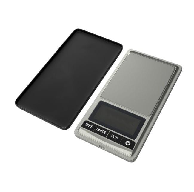 Klein precisie weegschaaltje 0,01 gram nauwkeurig tot 500 gram