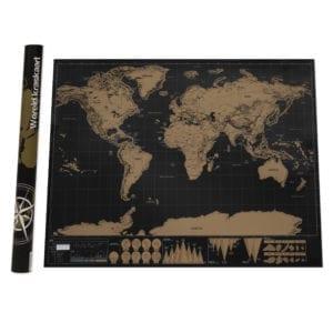 Aretica Wereld Kraskaart