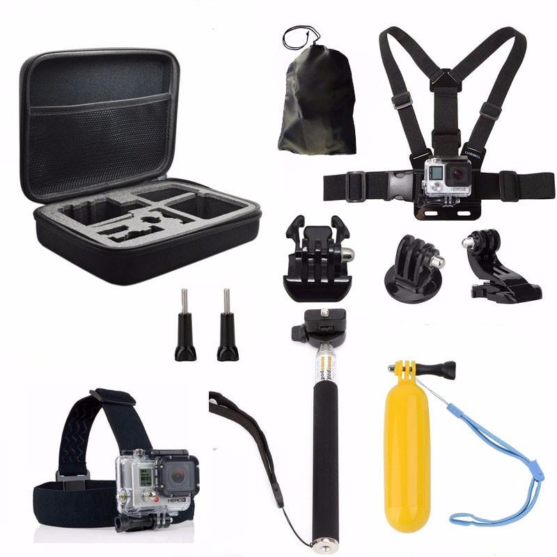 11 in 1 gopro accessoire set met hulpstukken en mounts kadotopper. Black Bedroom Furniture Sets. Home Design Ideas