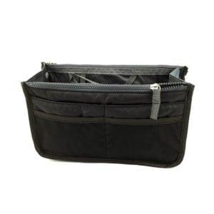 bag in bag hand tas organizer zwart