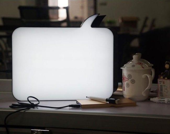 bubble lightbox achterkant