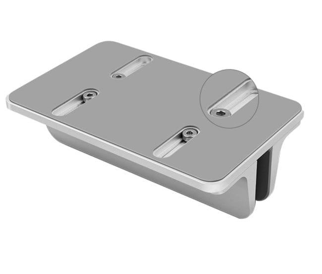 aluminium laptophouder onderzijde